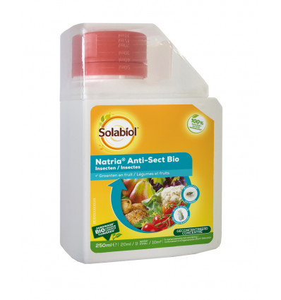 Solabiol Natria Anti-Sect Bio 250ml Groenten & Fruit