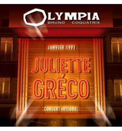 Juliette Greco 2CD Olympia 1991