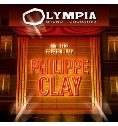 Philippe Clay 2CD Olympia 1957 & 1962
