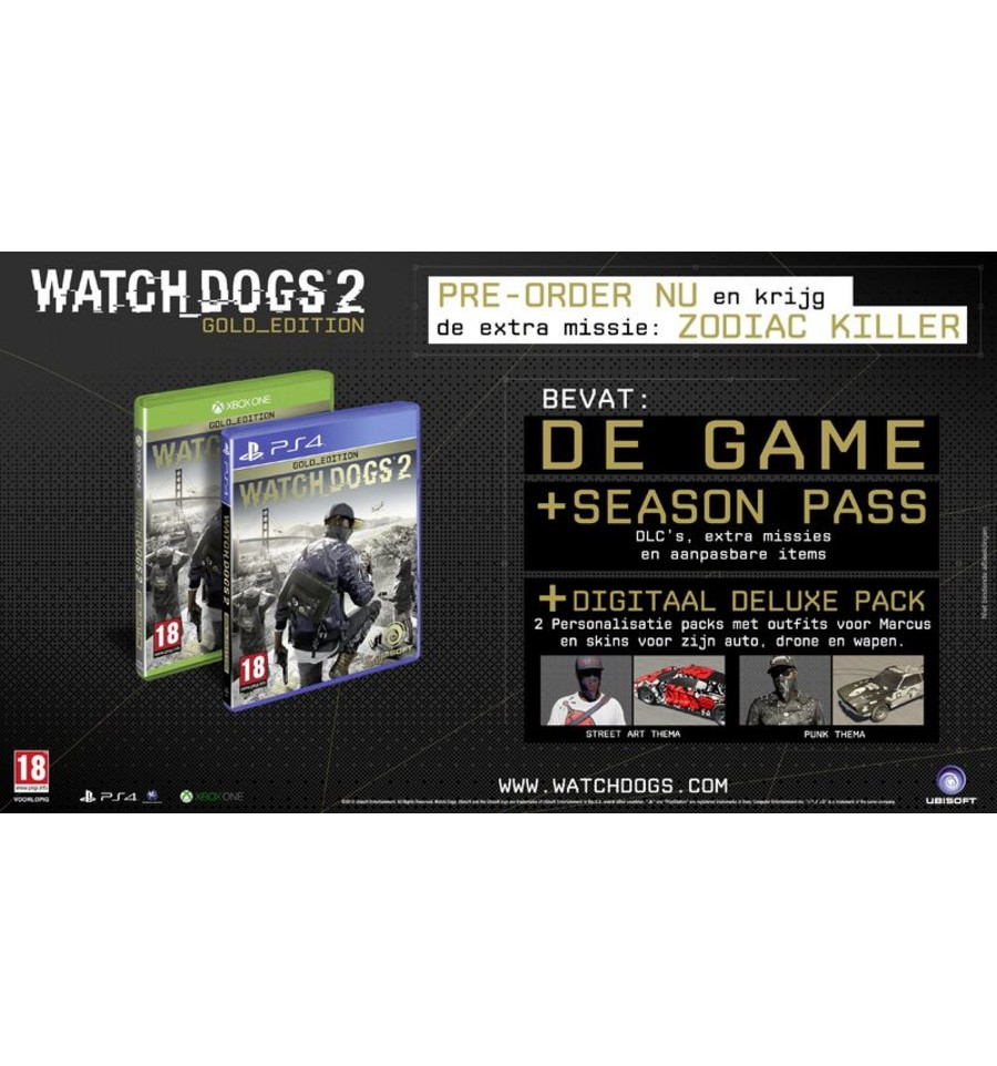 Watch Dogs Xbox One Barcode