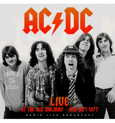 AC/DC - At The Waldorf, San Francisco 1LP Best of Live