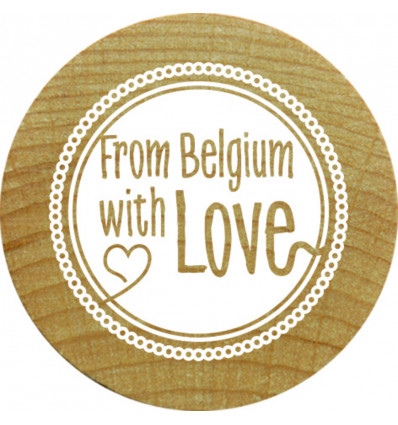 Woodies Stempel - From Belgium with Love