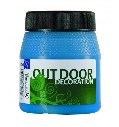 Schjerning Verf Outdoor Decoration Azure Blue - 250ml in Pot