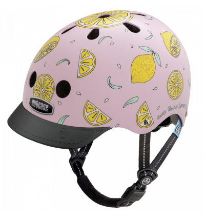Nutcase Little Nutty fietshelm Pink Lemonade