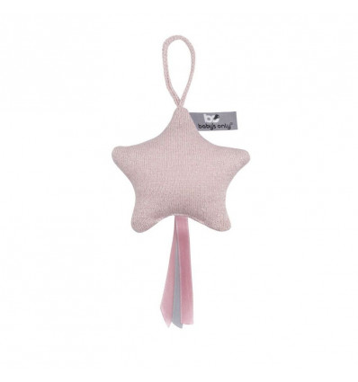DECORATIESTER - SPARKLE BABY'S ONLY - ZILVER-ROZE MELEE