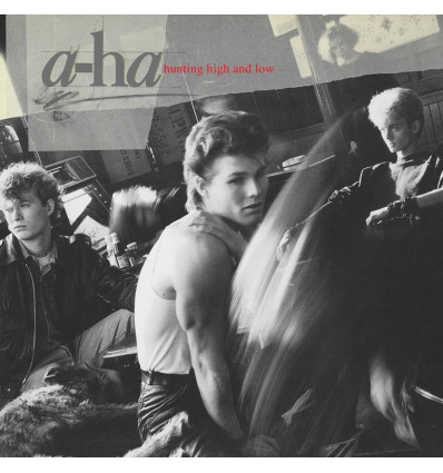 A-Ha - Hunting High and Low 1LP Clear Vinyl Edition