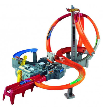 Hot Wheels Race Spin Storm Racebaan