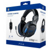 Bigben PS4 Gaming Headset Stereo Official Licensed - Zwart-Blauw
