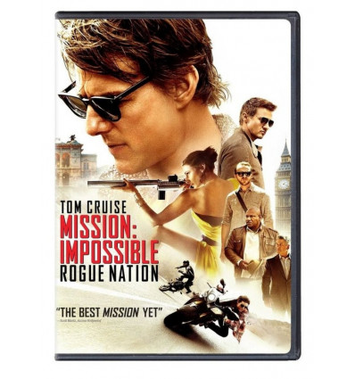Mission Impossible 05: Rogue Nation DVD