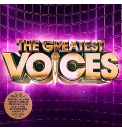 The Greatest Voices 3CD