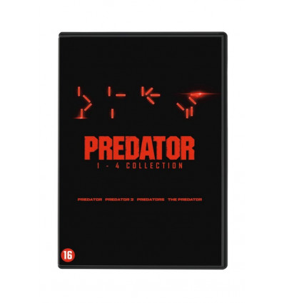 Predator 1-4 4DVD Box