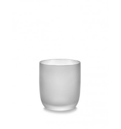 Serax Glas 33cl Base by Piet Boon Frosted Wit - 9x8cm