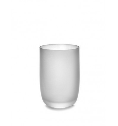 Serax Glas 45cl Base by Piet Boon Frosted Wit - 12x8cm
