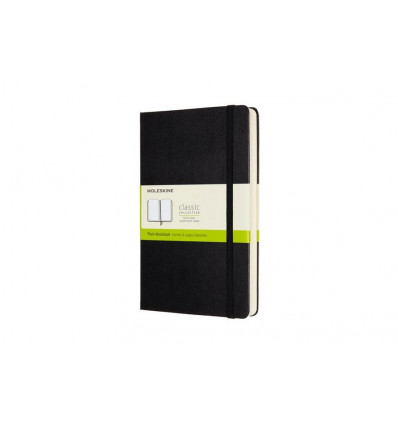 Moleskine Notebook Large Notes Expanded Hard Cover - Blanco - Zwart