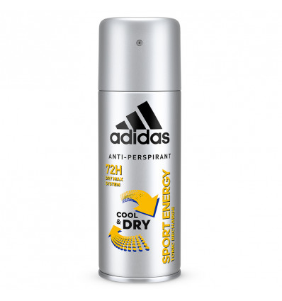 DEO SPRAY - ADIDAS FOR MEN COOL&DRY - SPORT ENERGY - 150ML