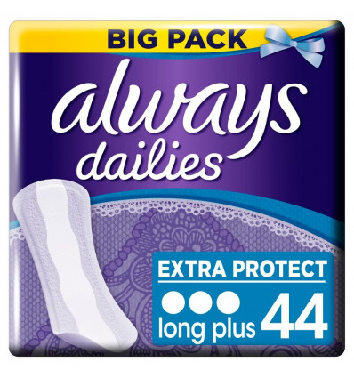 INLEGKRUISJES - EXTRA PROTECTION ALWAYS - LONG PLUS - 44 STUKS
