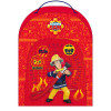 RUGZAK - 30x23x10cm FIREMAN SAM TO THE RESCUE - ROOD