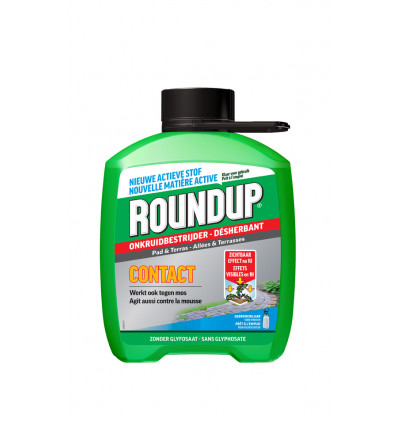 ROUNDUP Contact Onkruidbestrijder Paden 2,5L - Ready to use - 60g/l azijnzuur