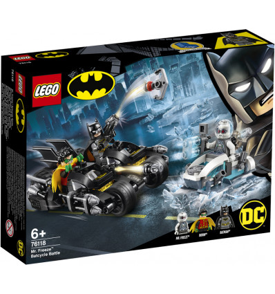 LEGO DC Super Heroes 76118 Mr. Freeze Het Batcycle-gevecht