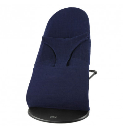LES REVES D'ANAIS Hoes voor Babybjorn relax - bliss blue