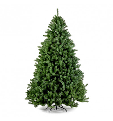 Kunstkerstboom Boston Spruce Hinged 180x119cm - 1395 Tips
