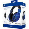 Bigben PS4 Gaming Headset Stereo Official Licensed - Blauw