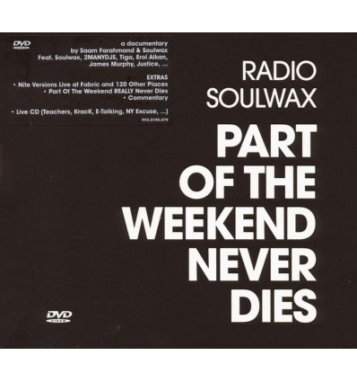 Soulwax: Part of The Weekend never dies CD