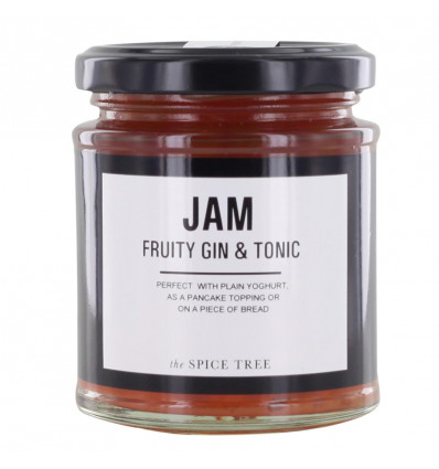 The Spice Tree Jam Fruity Gin & Tonic 215gr