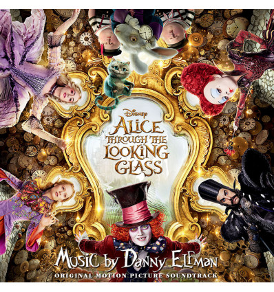Alice through The Looking Glass - OST CD Music by Danny Elfman