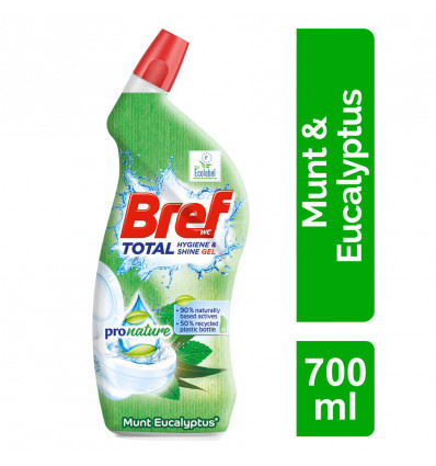 Bref WC-Reiniger Gel pronature mint 700ml