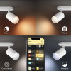 Philips Hue Fugato Spot Single Wit White en Color Ambiance + Bluetooth