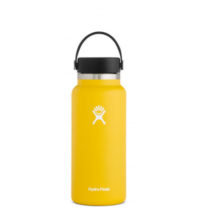 Hydro Flask Drinkfles Wide Mouth 2.0 32Oz - Flex Cap - Sunflower