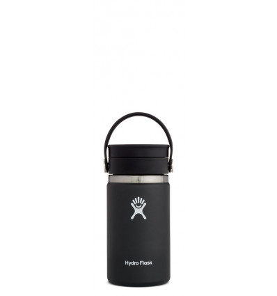 Hydro Flask Thermosfles Wide Mouth 12Oz Flex Sip Lid - Black