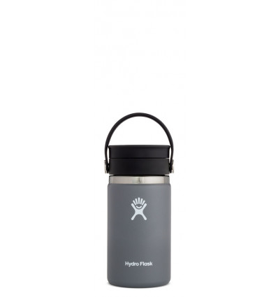 Hydro Flask Thermosfles Wide Mouth 12Oz Flex Sip Lid - Stone