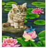 Craft Buddy Crystal Art Giant XL Card Poes 28.5 x 21 cm