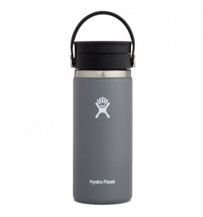 Hydro Flask Thermosfles Wide Mouth 16Oz Flex Sip Lid - Stone