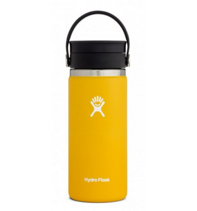 Hydro Flask Thermosfles Wide Mouth 16Oz Flex Sip Lid - Sunflower