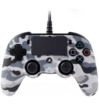 Nacon PS4 Controller Compact Wired Camogrey