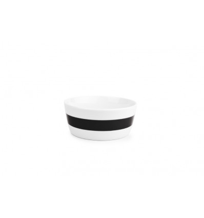Salt & Pepper Kom 13cm Stripes Set 4 - Zwart