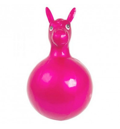SKIPPY BALL HORSE ROZE - 36x68