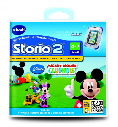 VTech Storio 2 Game Mickey Mouse Clubhouse