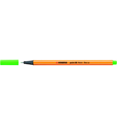 STABILO POINT 88 NEON FLUO GROEN