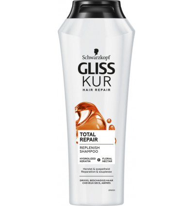 Gliss Kur Shampoo Total Repair 250ml