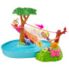 Barbie and Chelsea The Lost Birthday Jungle Rivier Speelset