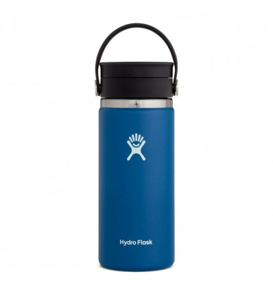 Hydro Flask Thermosfles Wide Mouth 16Oz Flex Sip Lid - Cobalt