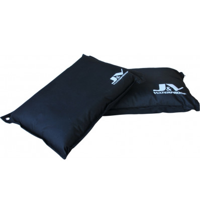 JACK AND VANILLA WATERPROOF CUSHION LARGE - BLACK - 100CM
