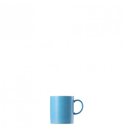 MUG MET OOR PORSELEIN - 30CL THOMAS - SUNNY DAY WATERBLUE