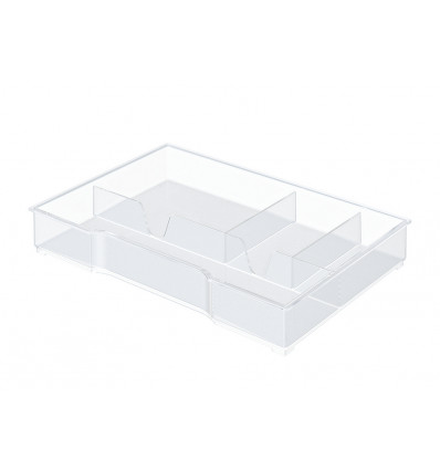 ORGANISER TRAY VOOR WOW LADENBLOK TRANSPARANT