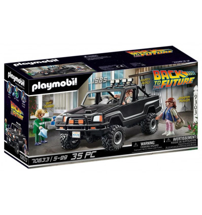Playmobil Back To The Future 70633 Back To The Future Marty's Pickup Truck