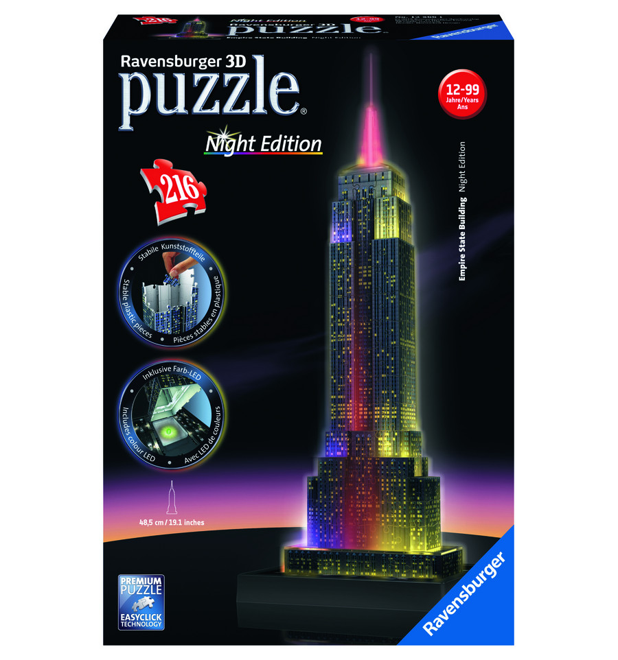 Awesome Ravensburger 3d Puzzel Met Led Verlichting Photos - Huis ...